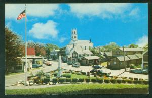 Chatham Cape Cod Seaview Street Main Chatham Memorial Methodist Church Postcard