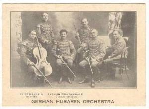 German Husaren Orchestra, Pre 1907