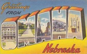 Nebraska Omaha Greetings From Omaha Nebraska