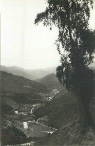 carte postala Romania Voineasa Valea Lotrului peisaj pitoresc