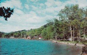 NORTH HATLEY, Quebec, 1950-1960s; Village North Of Lake Massawippi