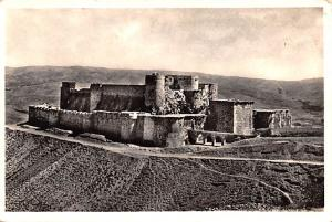Krak of the Knights, Syria Postcard, Syrie Turquie, Postale, Universelle, Car...