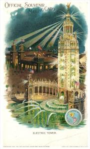 554  NY Buffalo Pan American Exposition  Electric Tower    1901  PMC