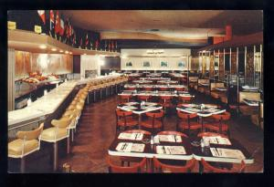 New York City, NY Postcard, Radio City's Sager's Restaurant