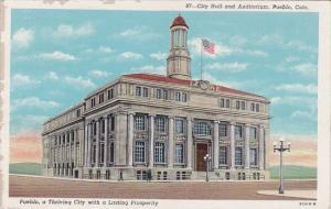 Colorado Pueblo City Hall And Auditorium