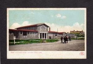 MA State Bath House Nantasket Beach Mass Massachusetts UDB Postcard Vintage