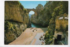 COSTIERA AMALFITANA, Furore - Spiaggia, Italia, 1971 used Postcard