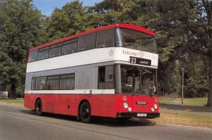 Postcard Bus, Leicester CityBus, 1986 Scania N112, East Lancashire Body #276