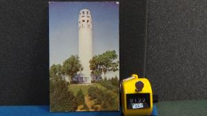 STD Vintage Coit Tower on Telegraph Hill San Francisco California Unposted