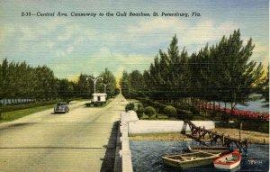 FL - St Petersburg. Central Avenue, Causeway to Gulf Beaches
