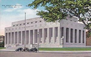 Missouri Saint Louis War Memorial Building
