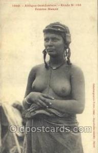 Afrique Occidentale Etude No 133 Femme Maure African Nude Nudes Postcard Post...
