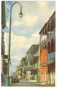 New Orleans , Lousiana , 40-60s   Creole architecture in  French Quarter