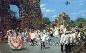 Typical Dances Old Panama Panama Unused