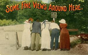 Humor - Some fine views around here