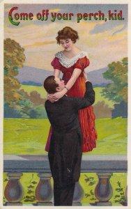 Romanic Couple, Come off your perch, kid, PU-1914