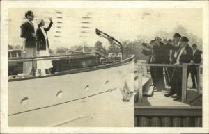 Radio Show Advertising? Easy Aces - Lavoris Mouthwash Used 1932 Postcard #1