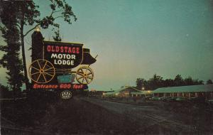 COLONIAL HEIGHTS , Virginia, 1950-60s ; Old Stage Motor Lodge