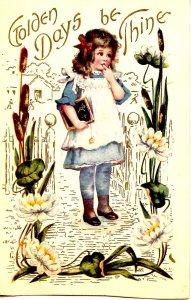 Greeting - General. Little Girl