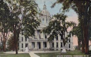New Hampshire Concord State Capitol