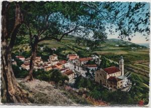 ARQUA PETRARCA, Panorama verso la Chiesa, used Postcard