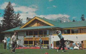 Golf Course & New Clubhouse , JASPER , Alberta , Canada , 50-60s