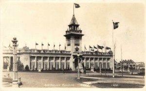 RPPC Australian Building 1915 PPIE San Francisco, CA Expo Vintage Postcard