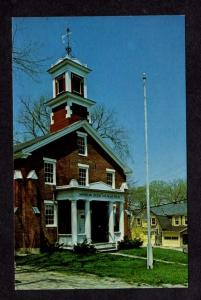 ME Old Academy American Legion Duffy Hall Post 85 Blue Hill Maine Postcard