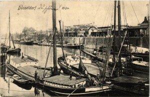 CPA AK Dusseldorf- Hafen GERMANY (1002339)