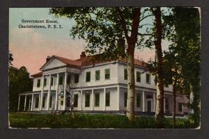 PEI Government House CHARLOTTETOWN PRINCE EDWARD ISLAND