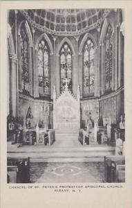 New York Albany Chancel Of St Peters Protestant Episcopal Church Artvue