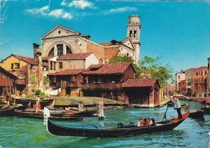 Italy Venezia Rio e Cantiere di San Trovasa
