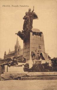 Czech Republic Praha Pomník Palackého 02.57