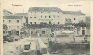 Postcard Croatia Cirkvenica Hotel Belle vue