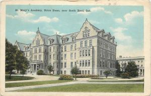 South Bend Indiana~Spanish Revival St Mary's Academy at Notre Dame 1920