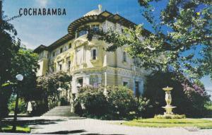 Palacio Portales, Residencia Del Rey Del Estano, Don Simon I. Patino, Cochaba...