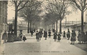 CPA Paris 14e (Dep.75) - Avenue de Montsouris (56459)