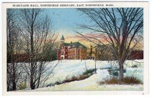 East Northfield, Mass, Marguand Hall, Northfield Seminary