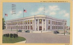 New York Rochester New Post Office 1948 Curteich