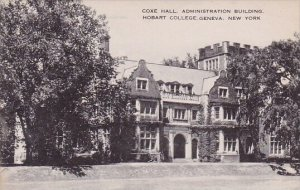 New York Geneva Coxe Hall Administration Building Hobart College Artvue