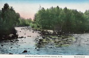 NH - Conway. Junction of Swift and Saco Rivers