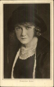 Actress Dorothy Gish Picture Portrait Gallery #127 c1915 Postcard
