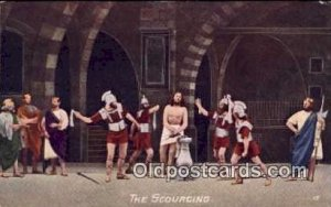 religion postcard postcards The Scourging Unused