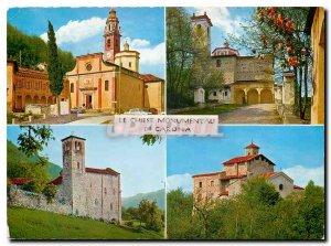 Modern Postcard The Monumentali Chiese di Carona