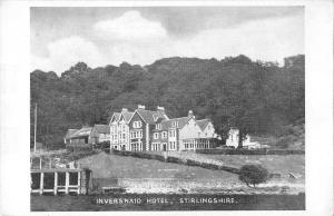 uk32283 inversnaid hotel stirlingshire scotland real photo uk