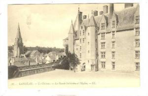 La Facade Interieure Et l'Eglise, Langeais (Indre-et-Loire), France, 1900-1910s
