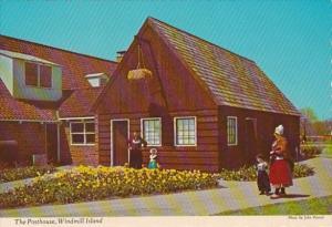 Michigan Holland Posthouse On Windmill Island