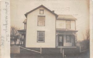 C98/ Laurelville Ohio Postcard Real Photo RPPC c1910 Hocking County Logan