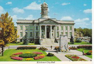 Canada City Hall Kitchener Ontario