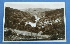 Vintage Valentines RP Postcard Three Counties View Symonds Yat Herefordshire  D1